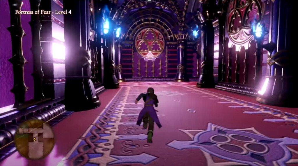 Dragon Quest XI: подземелья