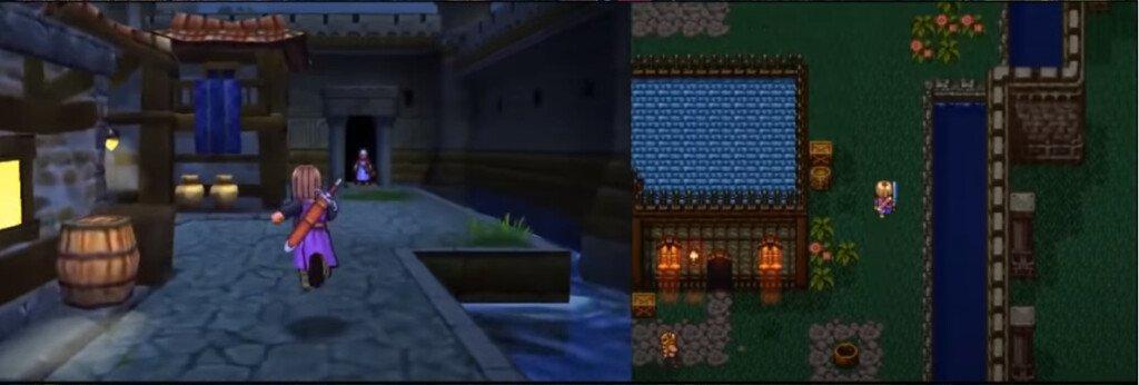Dragon Quest XI: два режима игры